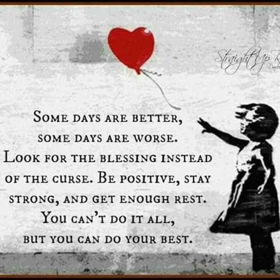 Quote about being positive