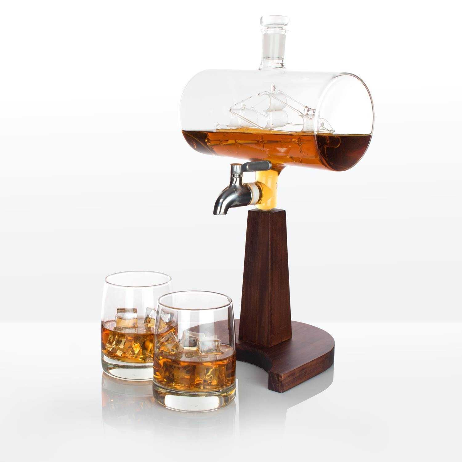 ship whiskey decanter to enjoy whiskey in style