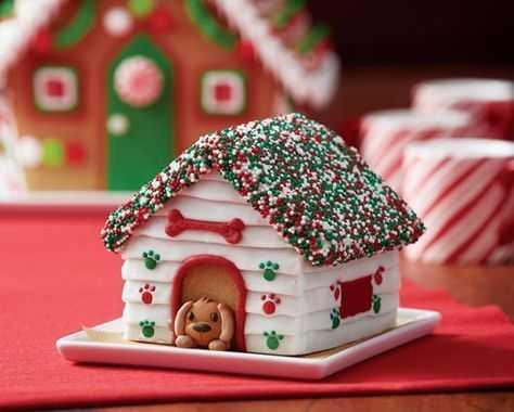Ginger Bread Dog House Idea