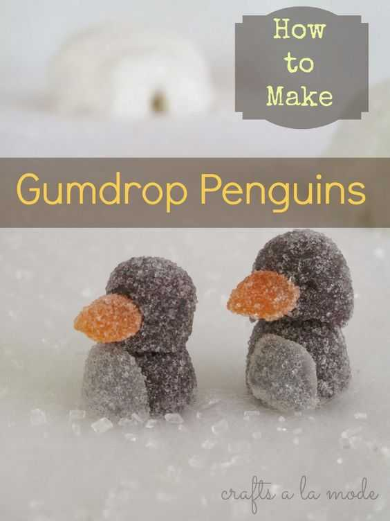 Gumdrop Penguin Ginger Bread Hack