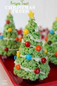 A Krispie Christmas Tree Idea