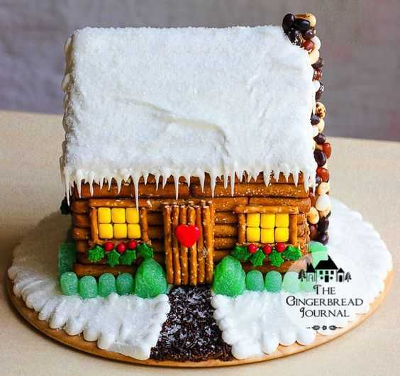Hack For No Bake Ginger Bread House