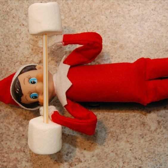 Elf On the Shelf - do you lift