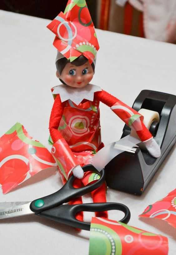 Elf On the Shelf - self assembly