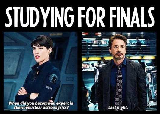 54 Memes For Finals Week
