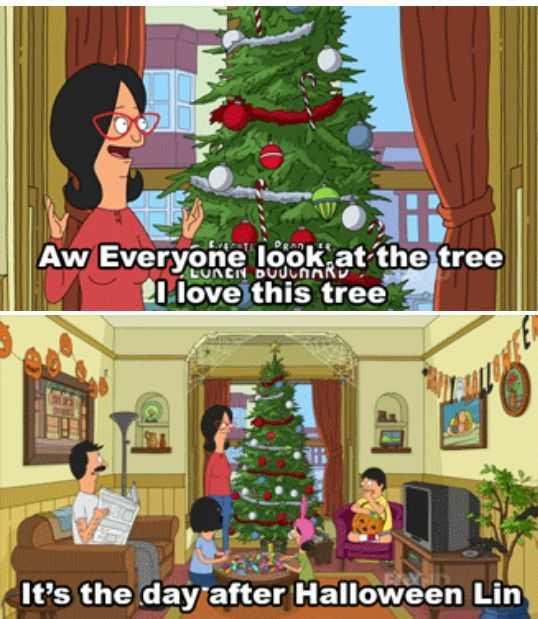 premature christmas decorating meme - christmas bobs