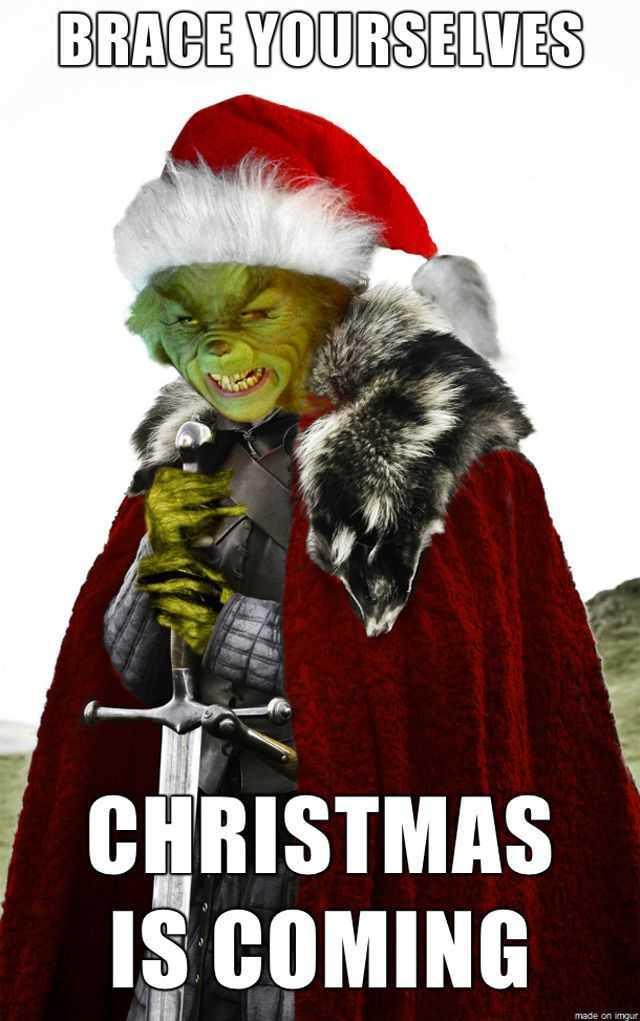 too early for christmas meme - christmas coming
