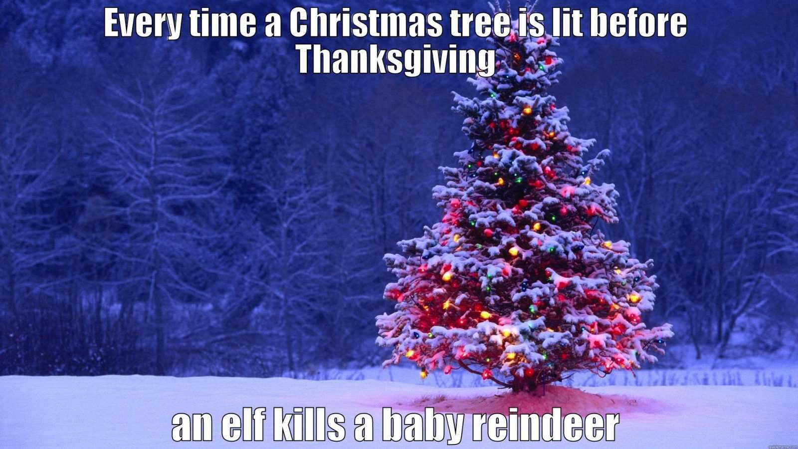 early christmas meme - save the reindeers