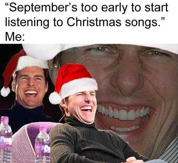 christmas too soon meme - falalala don't