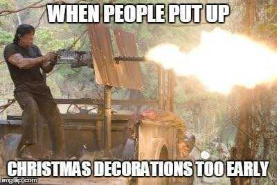 early christmas meme - torch them