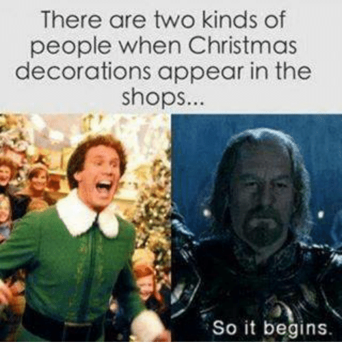 too early for christmas meme - so it begins