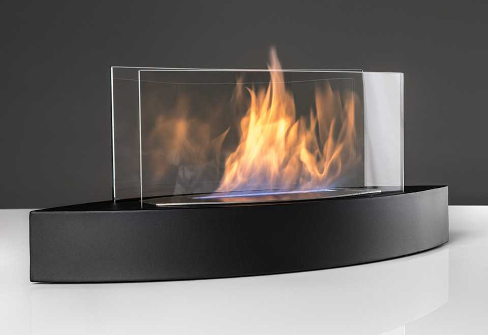 tabletop fireplace smokeless