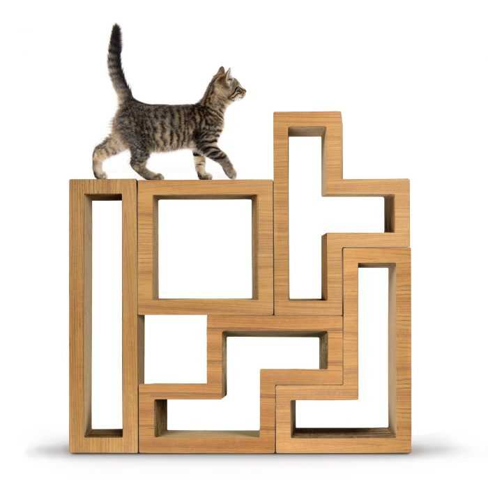 Modular Cat Tree Stacked