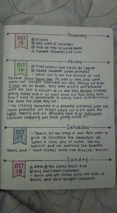 Bullet Journal Ideas - To Do Template