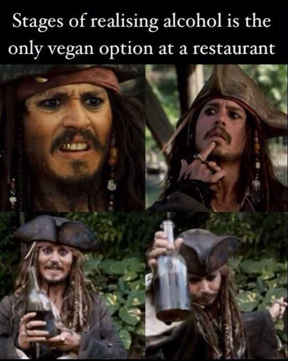 Funny Images vegan option