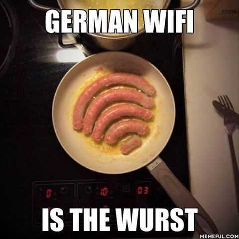 Funny Images of german wifi