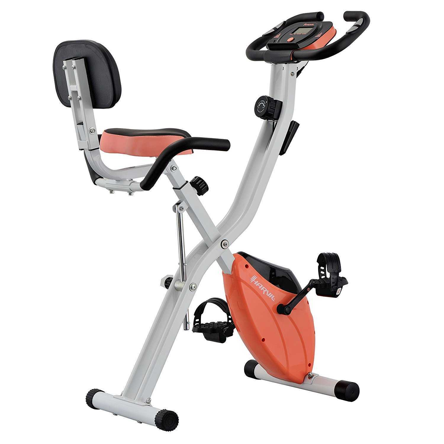 Havril Foldable Exercise Bike Unfolded View