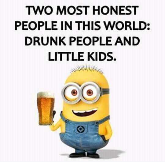 Snarky quotes about drunk people