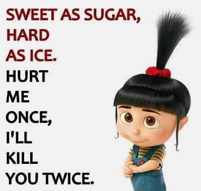 minion pictures - sweet as sugar and hard as ice
