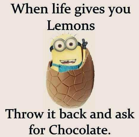 31 Funny Laugh-out-Loud Minions Pictures - life gives you lemons