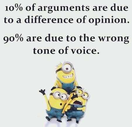 funny minions pictures - causes of arguments