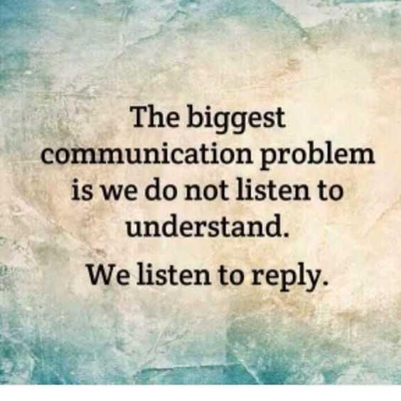 inspiring Motivational Quotes - communication problem
