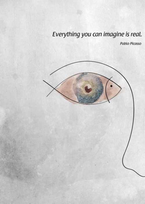 Motivational Quotes - everything you imagine