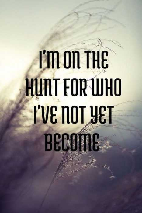 Motivational Quotes - on the hunt