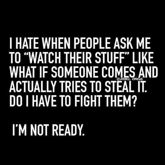 Snappy Funny Memes - watch my stuff