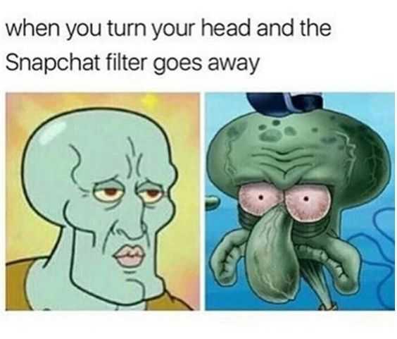 Funny Dank Memes - snapchat filter fail