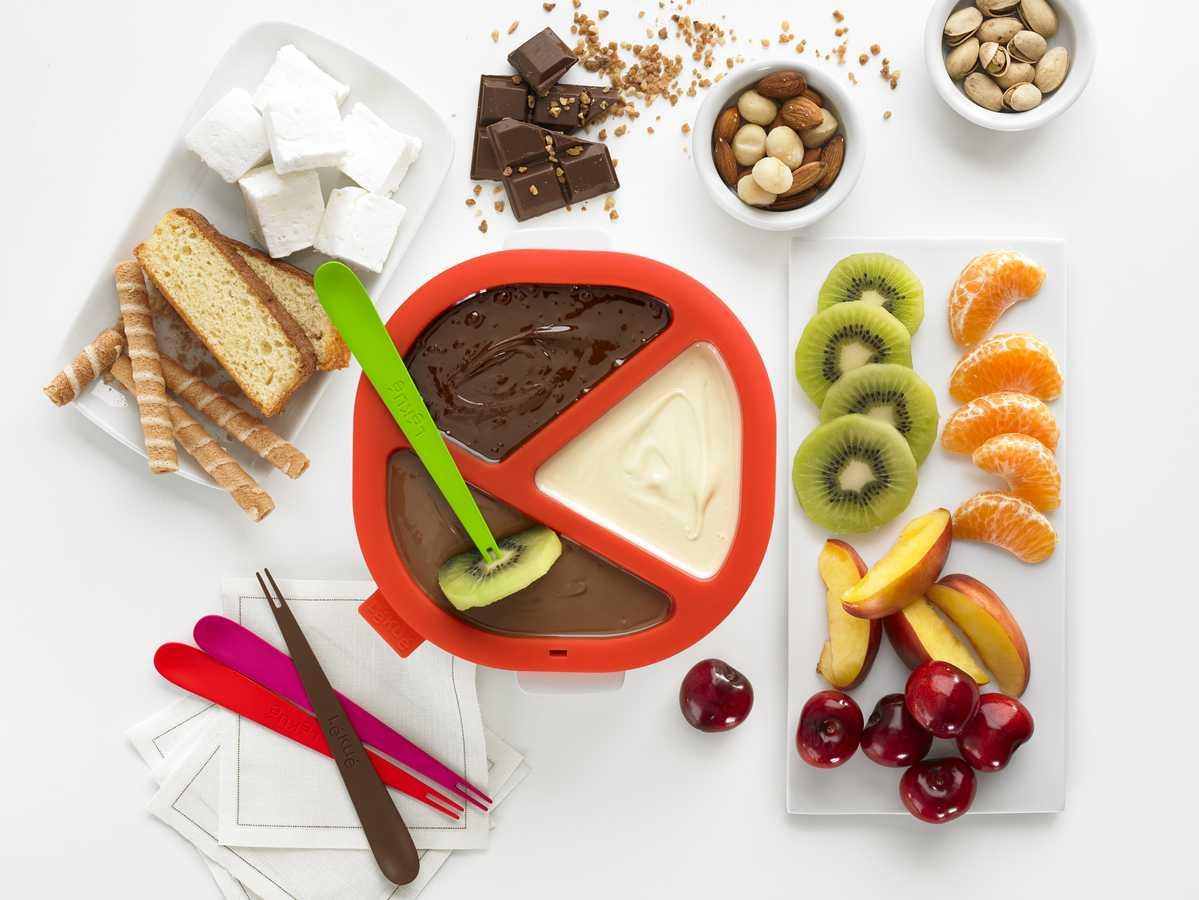 Lekue Chocolate Fondue Set