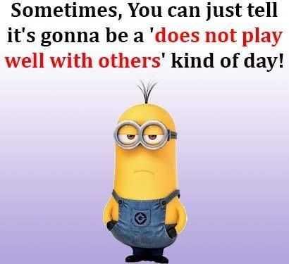 Hilarious Minion Memes - Having A Bad Day