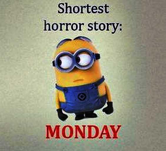 Minion Memes About Monday