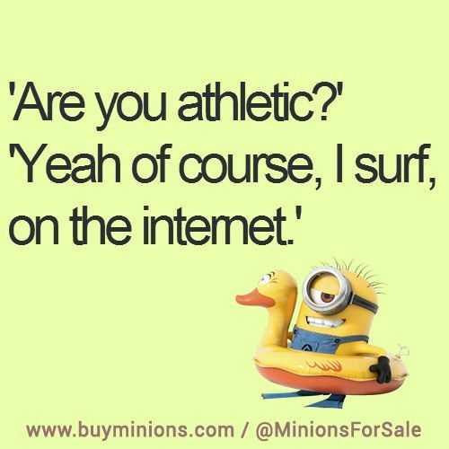 Funny Minion Memes - Athleticism