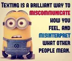 Funny Minion Memes - Communication Problems