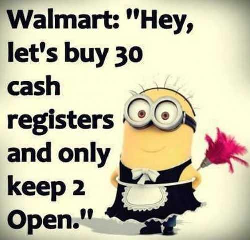 Minion Memes - Walmart Checkout