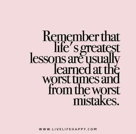 Quotes about mistakes