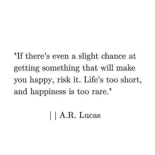 incredible quotes - taking chances