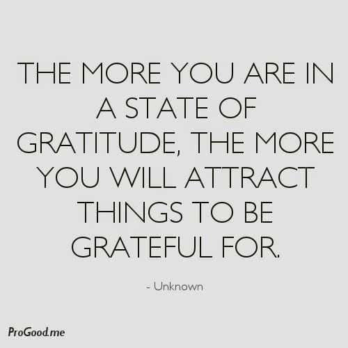 incredible quotes - gratitude