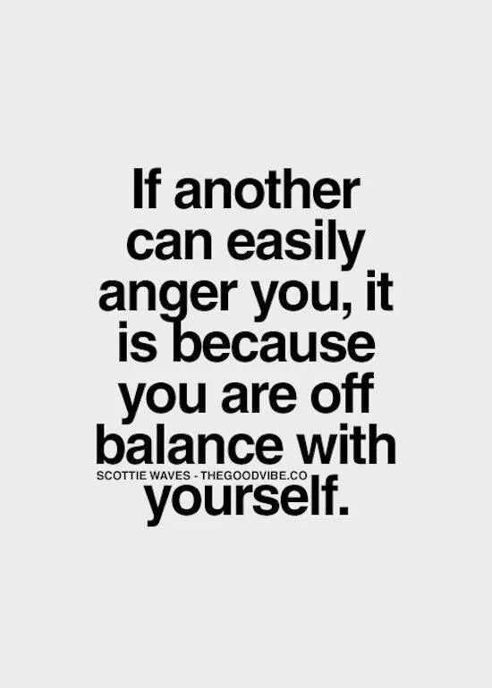 Inspirational Words 9 - Anger