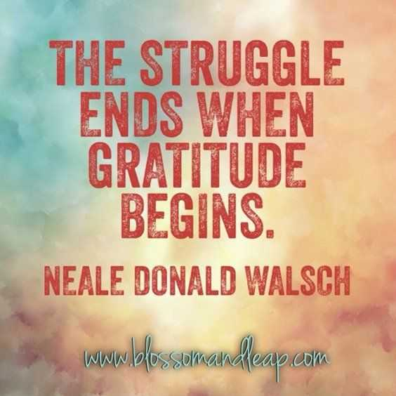 Inspirational quotes about life - gratitude