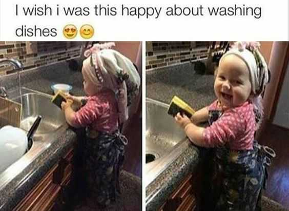 Hilarious Tumblr 3 - happy dishes