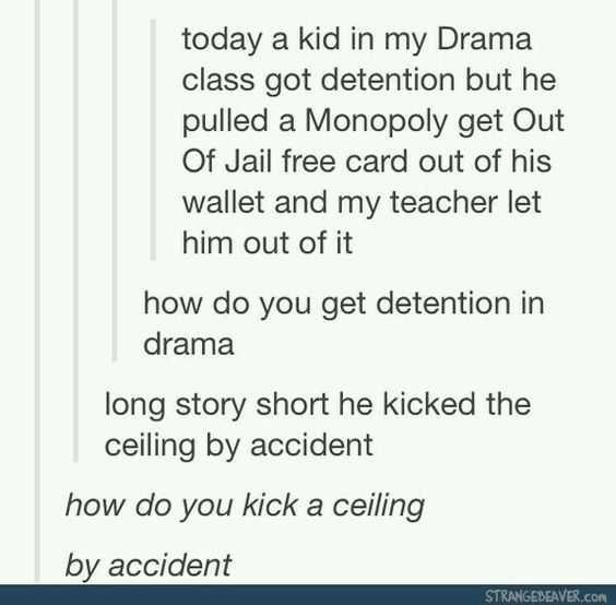 Hilarious Tumblr Posts 2 - kicked