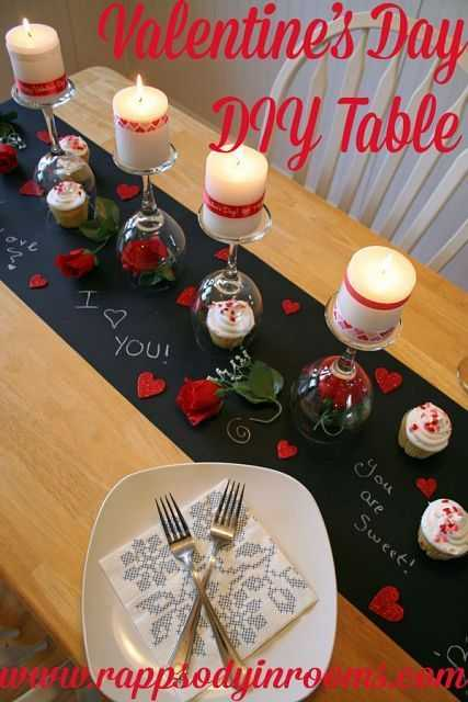 Valentine's Day Crafts - Table