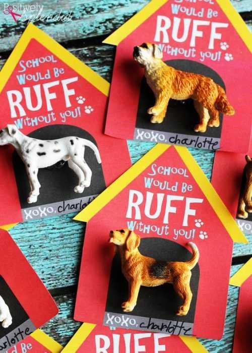 Valentine's Day Crafts - Ruff Dogs