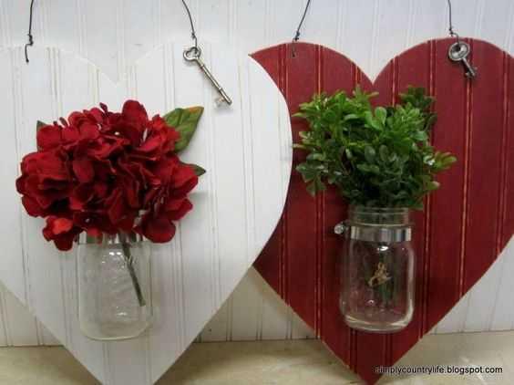 Valentine's Day Crafts - Jar Hanging