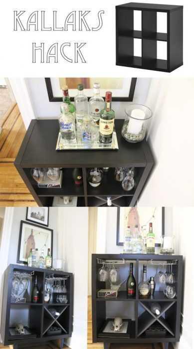 Ikea Hack - Stylish Liquor Cabinet