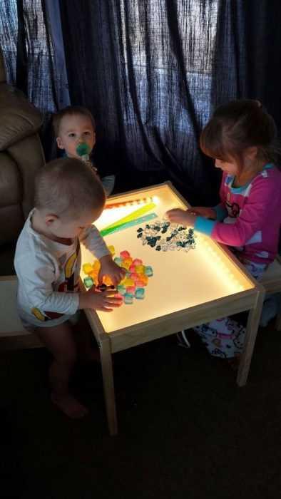 Ikea Hack - Kids Play Table