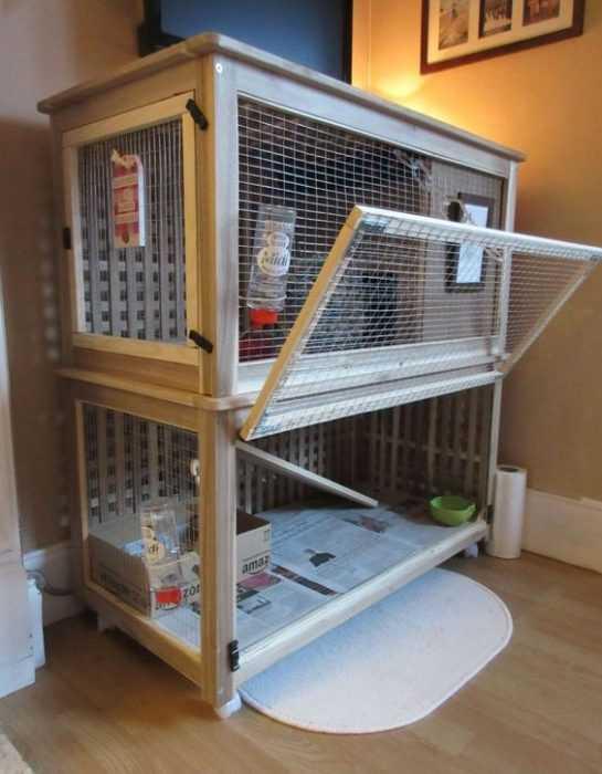 Ikea Hack - Rabbit Home