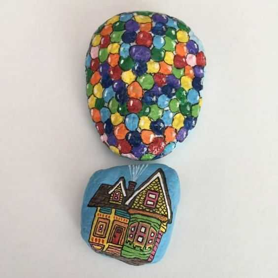 Painted Rock Idea Easy Up!